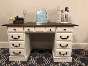 Antique Pedestal Desk for Sale in Raleigh, NC