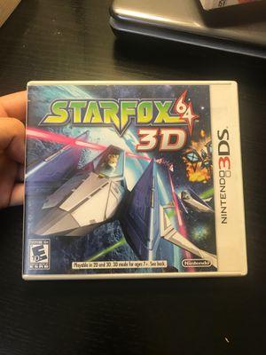 STARFOX64-NINTENDO3DS for Sale in Queens, NY