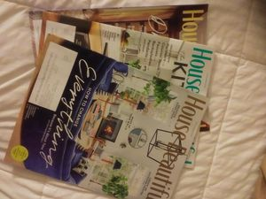 """Three Issues of """"House Beautiful"""" Magazine 2020 for Sale in Massillon, OH"""