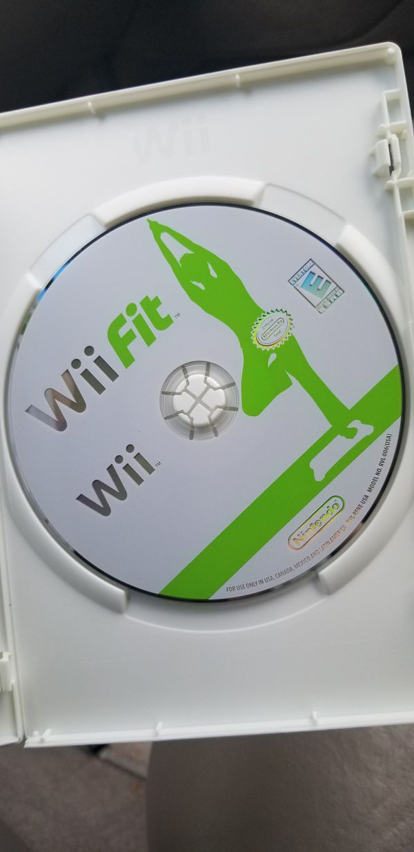Wii Fit Balance Board + Wii Fit Game