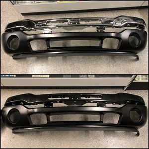 2003-2006 GMC Sierra Front Chrome Black Bumper Lower Valance Extension for Sale in Santa Ana, CA