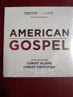American Gospel Movies (Christ Alone and Christ Crucified) New In Wrapper for Sale in El Paso,  TX