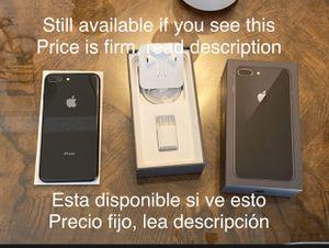 Iphone 8 plus 256g Unlocked. Price is firm / El precio es fijo for Sale in San Leandro, CA