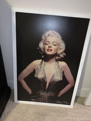 Marilyn Monroe large poster for Sale in Dallas, TX