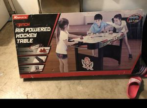 Kids air hockey table brand new for Sale in Moreno Valley, CA