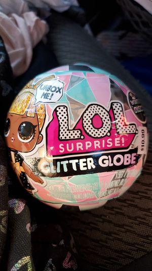 LOL glitter globe for Sale in Riverbank, CA