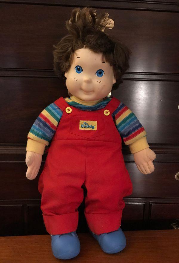 My Buddy Doll (Vintage) 1985 by Hasbro 🧢