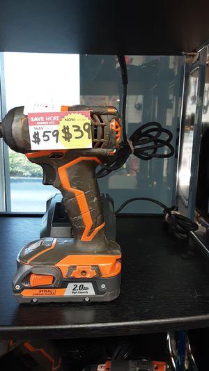 IMPACT DRILL RIDGID MODEL #R86034 for Sale in Miami, FL