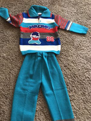 Kids clothes - 3T woolens shirt and pant for Sale in Littleton, CO