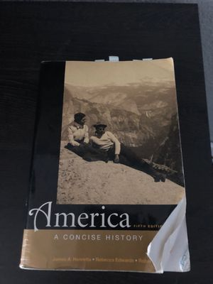 America a concise history textbook for Sale in Virginia Beach, VA