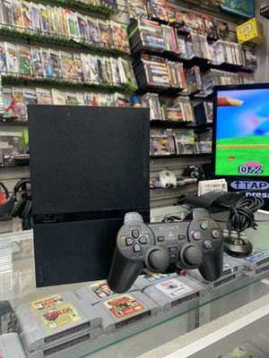 Playstation 2 is $119 when you buy (3) PS2 games for Sale in Houston, TX