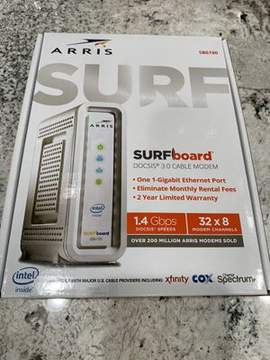 NEW in box Arris modem for Sale in Chandler, AZ