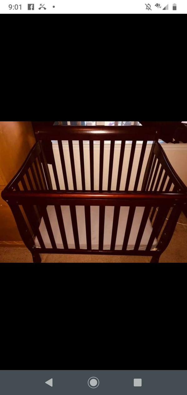 Dream on me 4 in 1 mini crib baby bundle