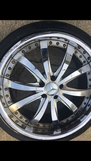 3 Mercedes rims and tires. for Sale in Columbus, OH