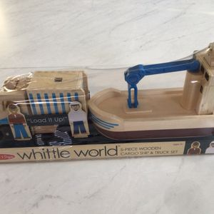 Melissa & Doug Brand New Five-Piece Truck & Cargo Ship Set for Sale in Nashville, TN