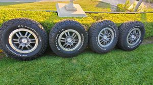 Rock Warrior TRD wheels and BFG K02s for Sale in Mission Viejo, CA