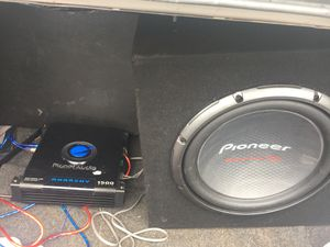 Sub/amp for Sale in Lexington, NC