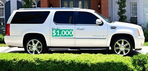 📗$1000 Original owner 2OO8 Cadillac Escalade very clean📗 for Sale in Santa Ana, CA