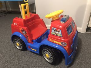 Kids power wheeler paw patrol for Sale in Columbus, OH