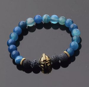 Spartan Gladiator Helmet Bracelet Blue for Sale in Burbank, CA