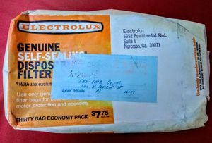 NOS Electrolux Genuine Self-Sealing Disposable Vacuum Filter Bags for Sale in Union Springs, AL