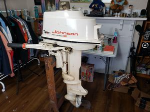 1959 Johnson 18HP Outboard Boat Motor for Sale in Pittsburgh, PA