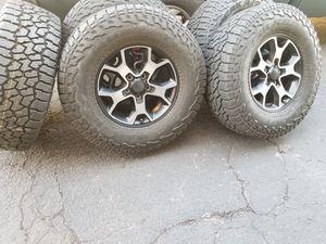 2019 Jeep Rubicon wheels & tires for Sale in Phoenix, AZ
