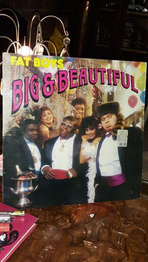 FAT BOYS Lp 80's old-school Hip-Hop vinyl record album for Sale in Tacoma, WA