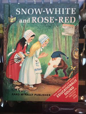 Snow White and Red Rose book for Sale in Lafayette, LA
