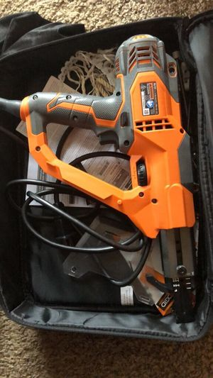 Nail gun w/ nail bucket for Sale in New Castle, DE