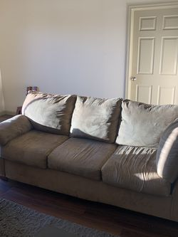 Two Couch Set, Queen Size Pullout Bed! for Sale in Phoenix,  AZ