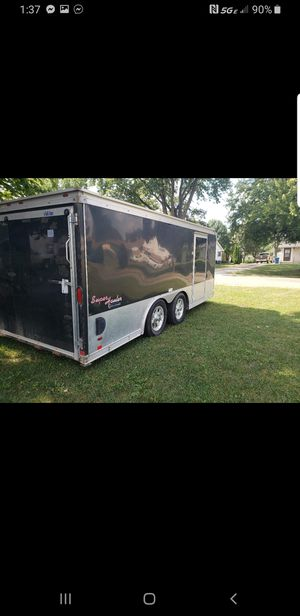 motorcycle trailer low boy 16ft 8 ft wide for Sale in Indianapolis, IN