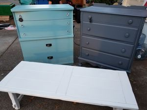 Upscaled antique furniture needs a good home! for Sale in Vancouver, WA