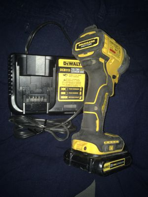 dewalt 20 v impact brushless with battery and charger for Sale in Spring, TX