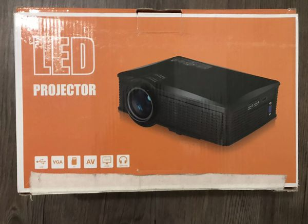 LED Projector - excellent picture and sound