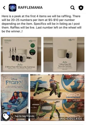 Join for a live raffle..! for Sale in San Antonio, TX