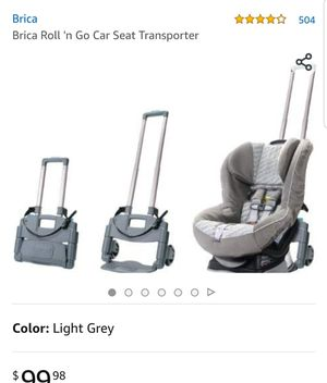 Brica Roll 'n Go Car Seat Transporter for Sale in Killeen, TX