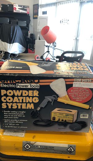 Chicago Electric Power Tools Powder Coating System for Sale in Hollywood, FL