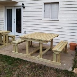 "Handmade French Outdoor Dining Table, 48""×81""×31 for Sale in Atlanta,  GA"
