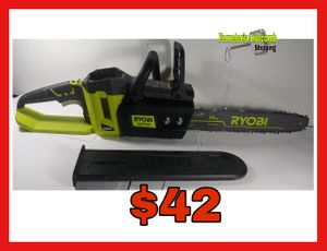 "Ryobi RY40502 Chain Saw 14"" 40v (Sierra de 14"") for Sale in Dallas, TX"