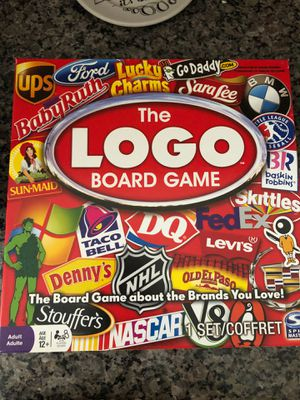 The logo board game original party game by spin master for Sale in Murrieta, CA