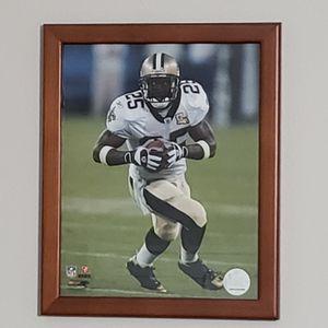 NFL New Orleans Saints Reggie Bush Framed Photo for Sale in Boca Raton, FL