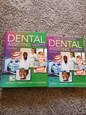Dental Assisting Book & Workbook for Sale in Moline, IL