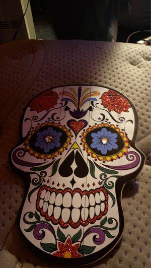 Sugar skull decor for Sale in Davenport, IA