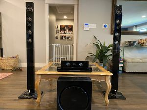 Samsung 5.1 Speaker/Subwoofer 3D Blu-ray Entertainment System for Sale in Dallas, TX
