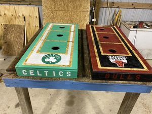 Washer set Bulls/Celtics for Sale in Sulphur, LA