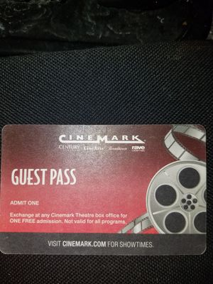 Movie Pass for Sale in Pueblo, CO
