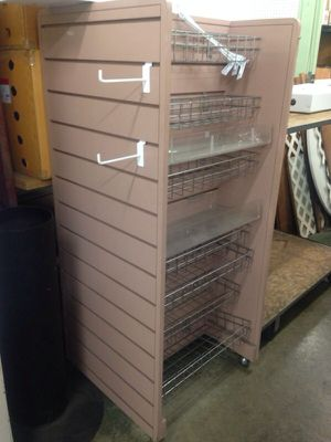 4 sided slat wall on wheels for Sale in San Francisco, CA
