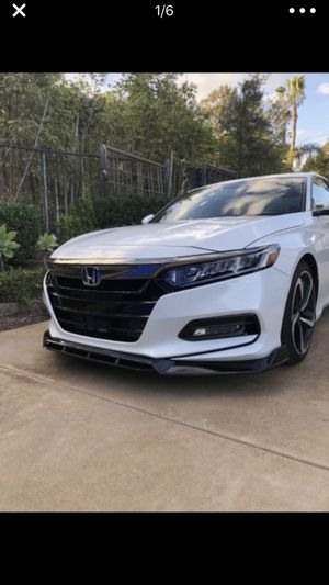 New Honda Accord front lip years 2019-2018 for Sale in San Diego, CA