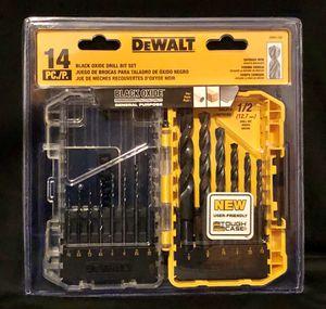 Dewalt 14-Pc Drill Bit Set for Sale in Pikeville, TN